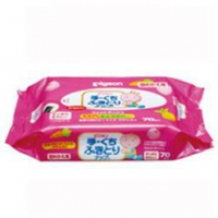 Pigeon hand and mouth baby wipe 70p