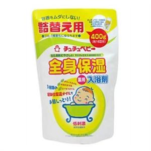 CHUCHU Baby Moisturizing Medicated bath powder refill 400g