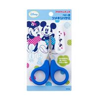 Baby nail cut scissors (mickey and minny)